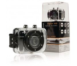 "HD-actiecamera 720p met 2""-touchscreen.."