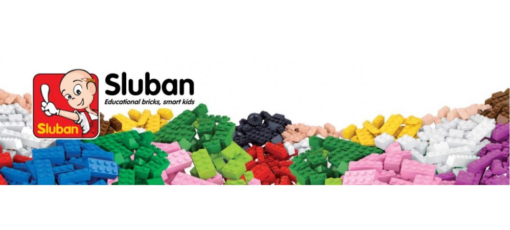 Sluban is a toy brand building blocks building.